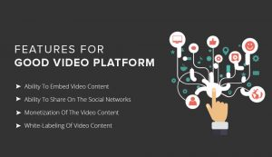 Features of good video platform