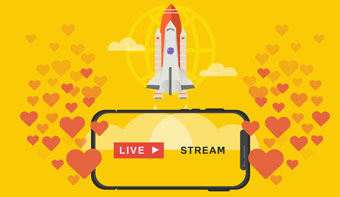 live video streaming for business