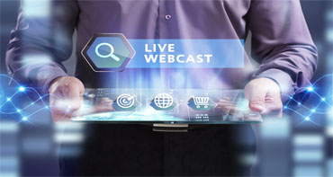 webcast providers for advertising