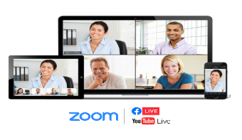 zoom to live streaming