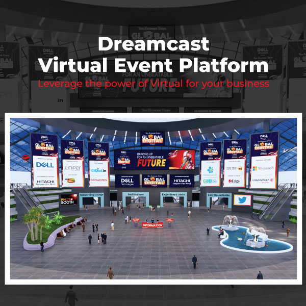 Dreamcast Virtual Event Platform – To Make Your Business Leverage
