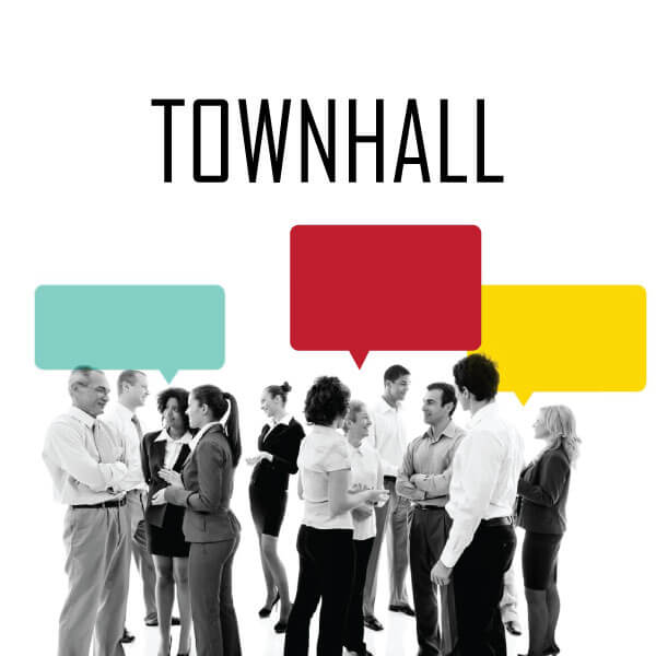 How To Host Hybrid Town Hall Meeting?