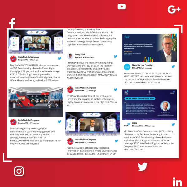 How to Use Social Media Wall in Virtual Events?