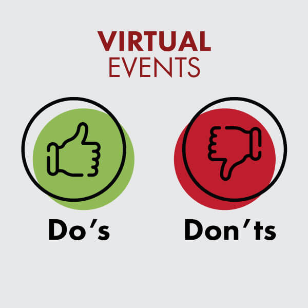 The Do's and Don'ts of Virtual Events for Business