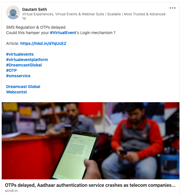 Revised SMS Regulations by TRAI