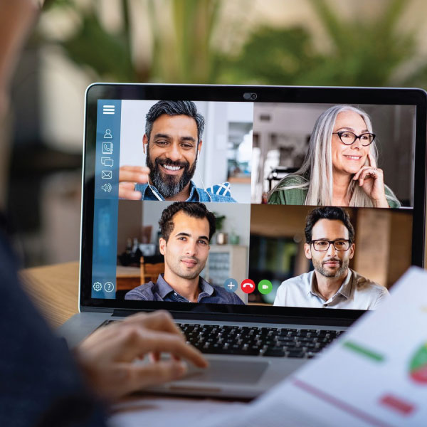 Reward and Discuss New Marketing Strategies via Virtual Sales Meet-up