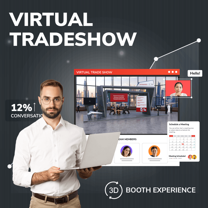 Virtual Tradeshow: 3D Booth Experience